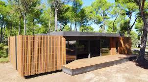wood lego house multipod studio s affordable pop up house snaps together like lego