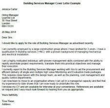cover letter examples for supervisor position janitor cover
