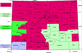 Counties In Colorado Map by Udall Bennet Move To Open Four Corners Tv Market To Colorado