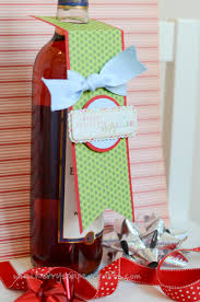 wine bottle tag tutorial kerry u0027s paper crafts christmas