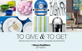 wedding gift registry canada home outfitters