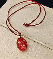 red leather necklace images Berserk behelit shoku 2012 version pendant necklace w jpg
