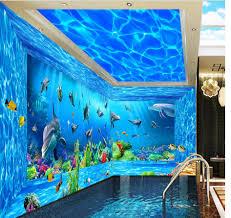 online buy wholesale ocean mural from china ocean mural murals wallpapers room sofa home decoration ocean world 3d mural wallpaper space china mainland