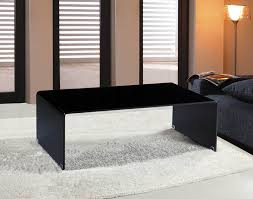 Black Glass Coffee Table Viva Modern