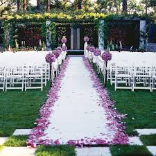 wedding ceremony decoration ideas wedding ceremony aisle decorations unique hardscape design