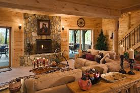 Rustic Basement Ideas Rustic Gas Fireplace Ideas Gas Fireplace Carpeted Walk Out