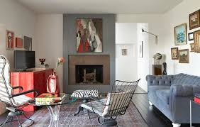 mixing mid century modern and rustic midcentury ranch house with rich personality traditional home