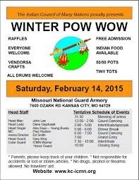Kansas travelers aid images The indian council of many nations winter pow wow pow wow calendar jpg