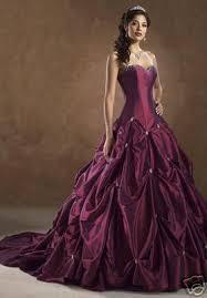 robes de mari e bordeaux de mariee bordeaux