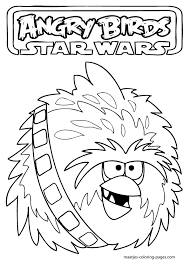 angry birds star wars coloring pages printable kids coloring