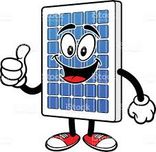 solar panels clipart solar panel with thumbs up stock vector art 531640613 istock