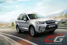forester subaru 2016 first drive 2016 subaru forester 2 0i premium philippine car