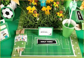 soccer party ideas real world cup soccer party hostess with the mostess