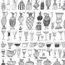Different Types Of Greek Vases Molly Hatch Ceramic Vase Drawings Art Drawing Illustration Art