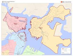 Map Room Boston by Electoral Maps Boston Planning U0026 Development Agency