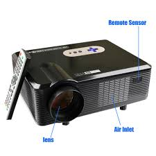 best home theater projector excelvan cl720d projector 3000 lumens hd home theater 720p