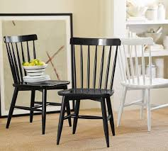 Oak Spindle Back Dining Chairs Hania 2 Tone Spindle Back Dining Chairs Set Of 4 Free