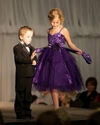 little girls purple christmas dress
