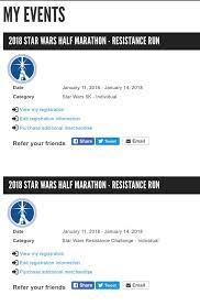 star wars light side half marathon postponed rundisney renames the star wars light side half marathon to the