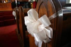 Pew Decorations For Wedding Wedding Decorations U2013 Making Your Own Pew Bows U2013 Bridaland