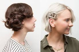 two ear hairstyle two easy hairstyles for dirty hair beauty blitz