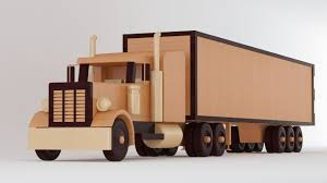 wooden truck toy wood truck