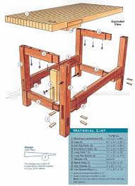 workbench plans workshop solutions workshop pinterest