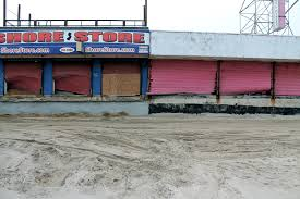 seaside heights nearly 4 months after hurricane sandy streets dept