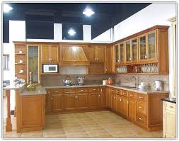 wooden kitchen ideas kitchen contemporary hickory kitchen cabinets picture ideas with