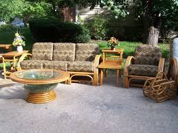Rattan Chairs Outdoor Vintage Rattan Furniture Style Painting Vintage Rattan Furniture