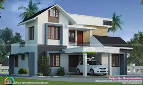 Single Story Modern House Designs In Kerala Roof Style Homes Flat Modern House Plans One Story Including