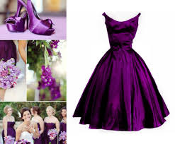 plum purple bridesmaid dresses gown and dress gallery
