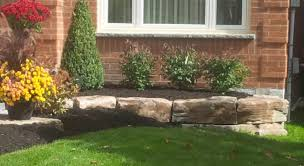 garden walls stone tropical touch landscaping armour stone markham