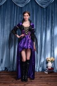 vintage witch costume aliexpress com buy ensen europe deluxe gothic violet and black
