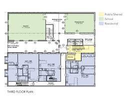 passive house mixed use martial arts studio blupath design