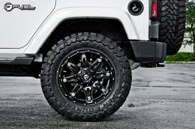 black jeep black rims car jeep wrangler on fuel 1 piece hostage d531 wheels