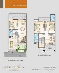 floor plans pearld u0027 villa jagatpura jaipur residential