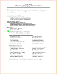 Sample Of Administrative Assistant Resume Resume Administrative Assistant Example