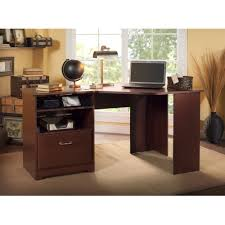 Black Corner Computer Desk With Hutch by Bush Cabot 60