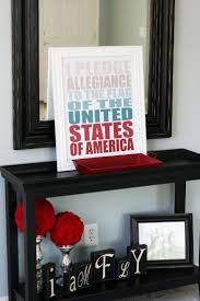 4th Of July Home Decor by 17 Best Images About Red White U0026 Blue On Pinterest God Bless