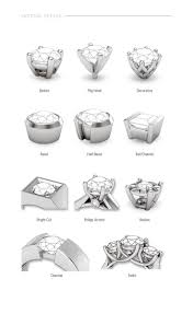 different types of wedding bands different types wedding rings new best 25 diamond settings ideas
