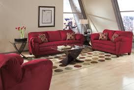 Burgundy Living Room Set Burgundy Micro Suede Contemporary Living Room Sofa W Options