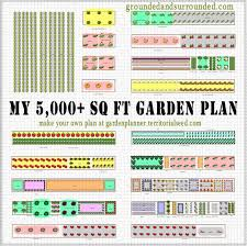 How To Plant A Vegetable Garden In Your Backyard by My 5 000 Sq Ft Vegetable Garden Plan Grounded U0026 Surrounded
