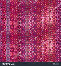 ethnic boho seamless pattern tribal art stock vector 437713312