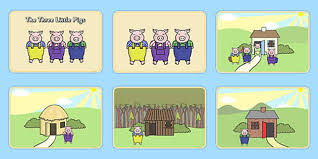 pigs story sequencing pigs