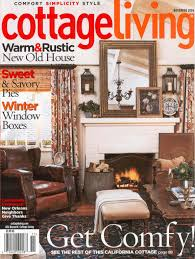 Cottage Living Magazine by In The News Anderson Creek Retreat