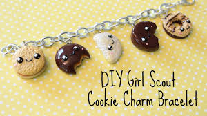 diy charm bracelet charms images Diy polymer clay girl scout cookie charm bracelet jpg