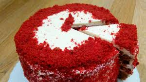 red velvet cake eggless cake in pressure cooker red velvet