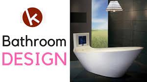 amazing futuristic and minimalist simple bathrooms decoration