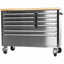 stainless steel workbench cabinets tool cabinet workbench tool storage garage stainless steel rolling